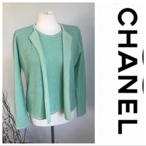 CHANEL Sweaters - Chanel twin set size 44
